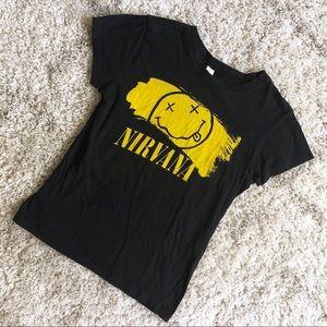 Nirvana Band Tee
